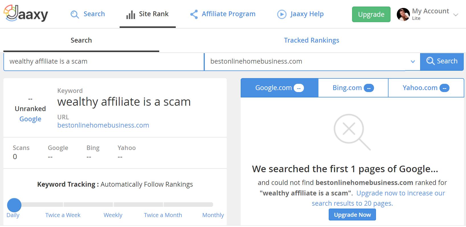 Jaaxy-Site-Rank