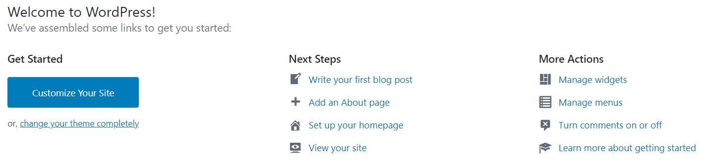 Welcome-to-WordPress