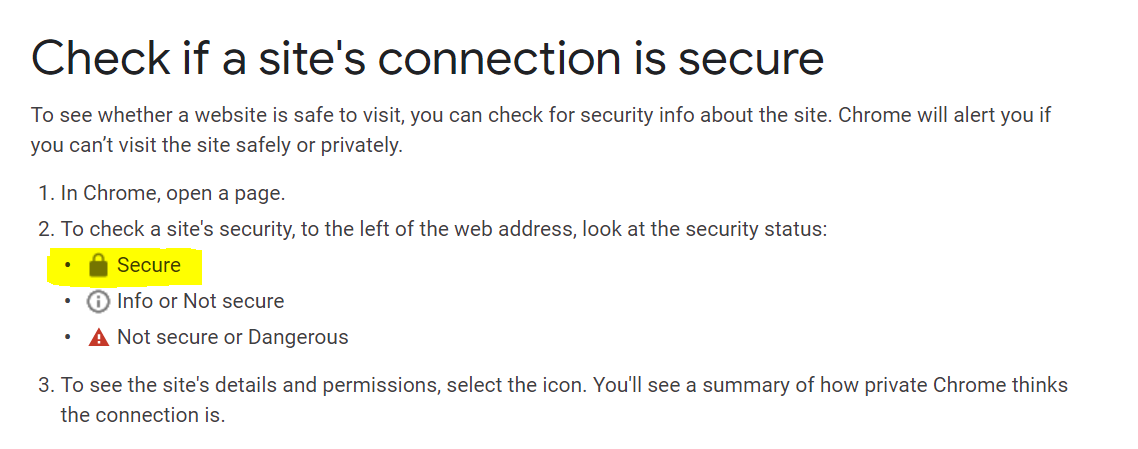 Your-website-is-secure