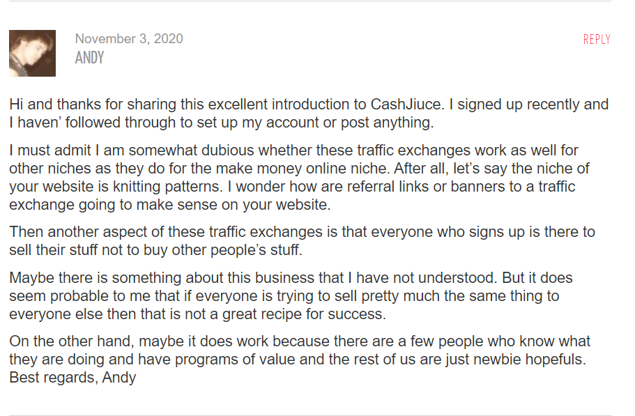 Andys-comment-on-CashJuice-Best-Online-Home-Business
