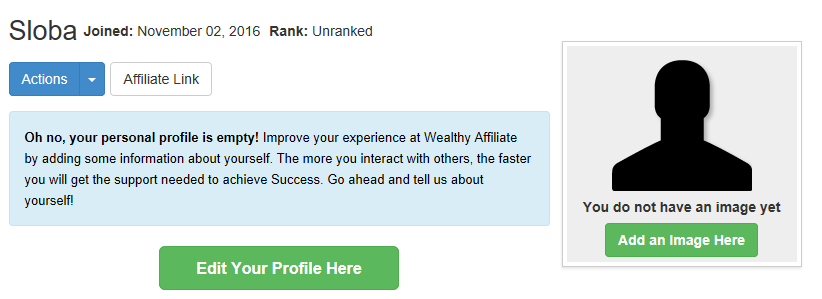 Setting-up-your-profile-at-the-Wealthy-Affiliate