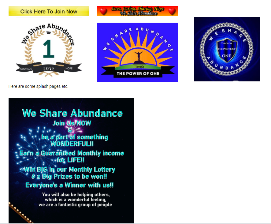 We-Share-Abundance-Best-Online-Home-Business